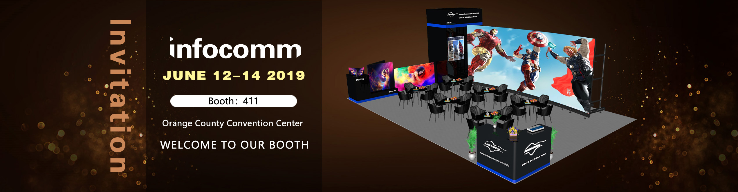 Kingaurora invites you to visit Infocomm